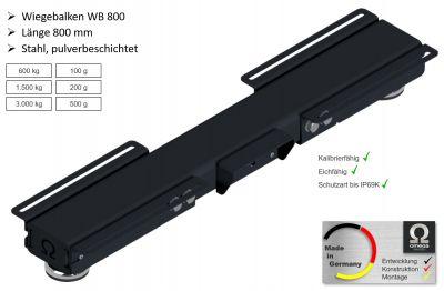 Wiegebalken WB 800 - RAL 7016