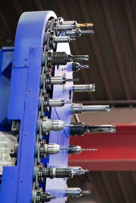 Werkzeugwechsler_CNC Maschine