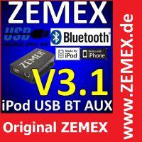 Original ZEMEX v3.1 Bluetooth Freisprecheinrichtung mit A2DP Audio Streaming