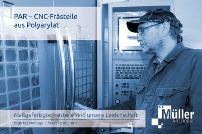 CNC Frästeile aus Polyarylat