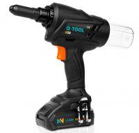 Das neue Akku-Blindnietwerkzeug Q-TOOL R50 für Industrie und Handwerk.