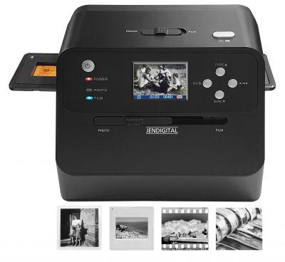 Der JENDIGITAL JDS1 scannt und digitalisiert Dias, Fotos aus Fotoalben oder lose sowie Negative.