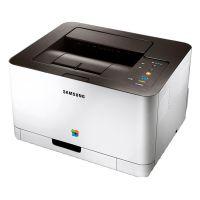 Der Samsung CLP 365 W überzeugt auch mit einer modernen Optik.