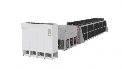 Die DSAF-Chiller mit Freikühlfunktion sind in Leistungsgrößen von 400 bis 1250 kW verfügbar.