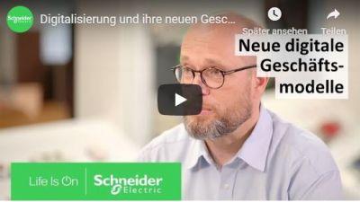 Schneider Electric unterstützt bei der Realisierung digitaler Geschäftsmodelle.