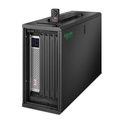 """EcoStruxure Micro Data Center C-Series 6U: Das kompakte 19""""-Gehäuse für kleine Edge-Installationen."""