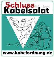Lose herumliegende Kabel im Büro, sind mitverantwortlich für ca 70.000 Stolper-Unfälle in deutschen Büros – pro Jahr