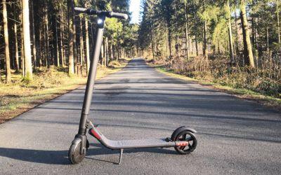 Vorsicht bei E Scootern ohne Straßenzulassung