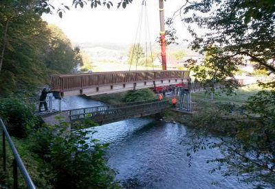 Das smarte Monitoring von Progeo bietet eine Früherkennung von Leckagen an der Brücke. (Foto: PROGEO)