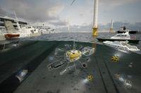 Neues modular aufgebautes Unterwasserfahrzeug vom Fraunhofer IGD mit intelligenter Kamera.