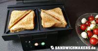 Leckere Sandwiches mit dem Sandwichmaker