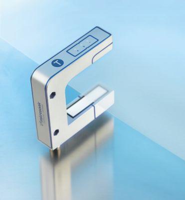 Der neue Ultraschall-Bahnkantensensor von microsonic: bks+