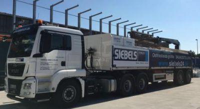 Die Siebels GmbH & Co. KG verfügt über Standorte in Pewsum und Norden. Auch Umlagerungen zwischen beiden Standorten lassen sich mi