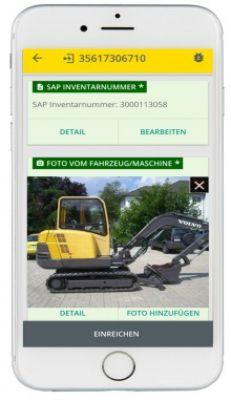 Screenshot aus der CEplus Service App. Bild: CEplus GmbH