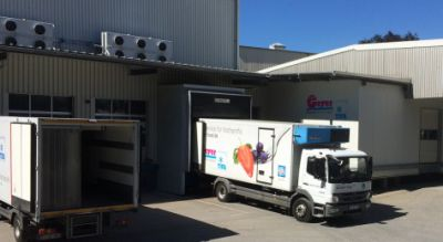 Der Fuhrpark von Geer Food umfasst 12 Fahrzeuge. Bild: H. Geyer GmbH & Co.KG