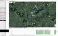 Überischt der gefahrenen Routen im Telematik-System. Bild: Wiebold/LOSTnFOUND