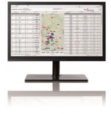 Die Desktop-Ansicht bietet der Zentrale umfangreiche Möglichkeiten zur Disposition der Fahrzeuge und liefert wichtige Echtzeit-Dat