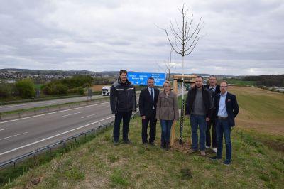 Oberbürgermeister Albrecht, Frederike Bühring, Bjön und Volkmar Wolf, Thomas Kersten
