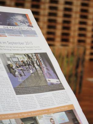 Am 02.08.2016 erscheint die neue Printausgabe der Fachzeitung Telematik-Markt.de. Bild: Telematik-Markt.de/Archiv