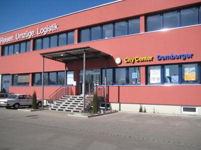 Firmensitz von Domberger - Reisen. Umzüge. Logistik.