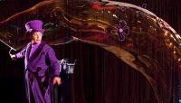 Event Künstler Blub verzauberte alle mit seiner berühmten Seifenblasenshow
