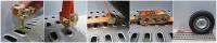 Einsatz des Befestigungssystems RipCon zur Ladungssicherung bei Fahrzeugtransporten