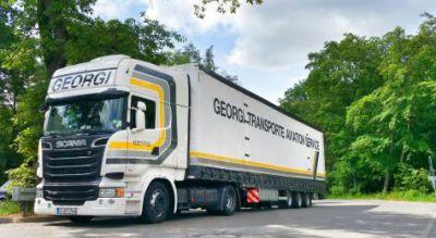 GEORGI Transporte stattet 300 Fahrzeuge mit DriverLinc+ von Astrata aus. Bild: Georgi