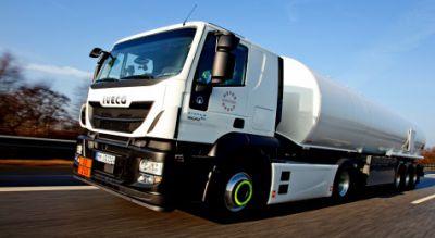 Die HOYER Mineralöl-Logistik GmbH setzt auf das Reifendruckkontrollsystem (RDKS) von Goodyear Proactive Solutions. Bild: Goodyear