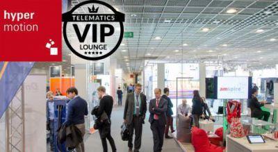 Die Telematics VIP-Lounge befindet sich auf der Hypermotion an Stand B46. Bild: Telematik-Markt.de