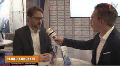 Im Interview: Danilo Kirschner, Eventmanager der Hypermotion. Bild: Telematik-Markt.de
