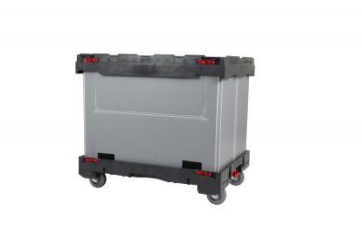 Der Smart Dolly Pack ist Ladungsträger und Dolly in einem. (© Smart-Flow Europe SA)