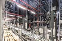 Steigerung der Lagerkapazität um 65% durch das neue Hochregallager (Bildquelle: TRIXIE Heimtierbedarf GmbH)