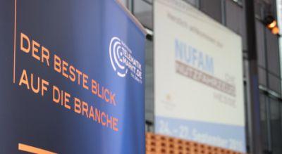 Die Karlsruher Messe- und Kongress-GmbH und die Mediengruppe Telematik-Markt.de intensivieren ihre Zusammenarbeit zur NUFAM 2017.
