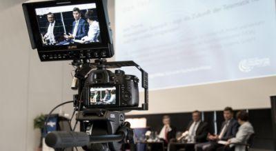 """Der Telematik-Talk findet in auf dem Telematik Award 2016 zum Thema """"Vom Lager, über Subunternehmer bis zum Kunden - die voll ver"""