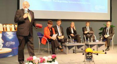 Spannende Live-Vorführungen im Rahmen der feierlichen Verleihungen des Telematik Award. Bild: Telematik-Markt.de