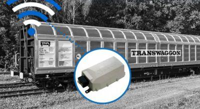 TRANSWAGGON und ScandFibre Logistics rüsten 3.000 Güterwagen mit SAVVY® Telematik aus. Bild: Savvy