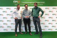 v.l.n.r. Oliver Zentgraf (FME), Tankred Schipanski (MdB), Christopher Kranholdt (Operativer Leiter FME)