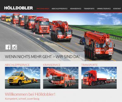 Die neue Website www.hoelldobler.com mit spektakulären Einsatzbildern