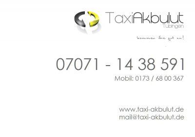 Taxi Akbulut Tübingen