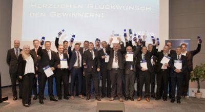 Die Gewinner des Telematik Awards 2014. Bild: Telematik-Markt.de/Archiv