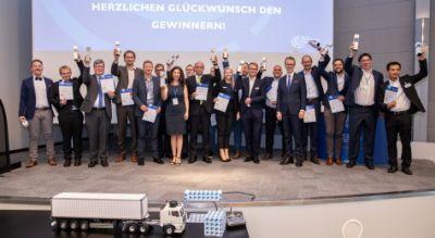 Die Gewinner des Telematik Awards 2018. Bild: Telematik-Markt.de