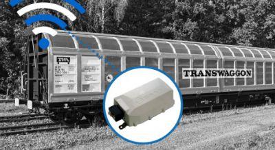 SAVVY® CargoTrac-R bietet vier Anschlussmöglichkeiten für herstellerunabhängige Sensoren. Bild: Savvy