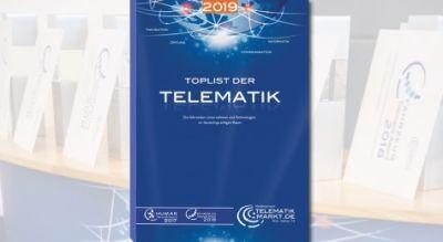 """Im Frühjahr 2019 kommt das neueste Buch """"TOPLIST der Telematik"""" 2019 heraus. Bild: Telematik-Markt.de"""
