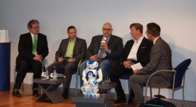Die Teilnehmer der Gesprächsrunde Telematik-Talk. Bild: Telematik-Markt.de