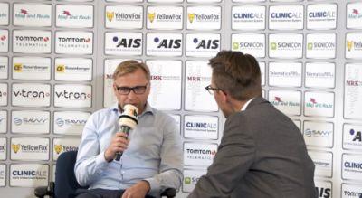 Thomas Gräbner, Vertriebsleiter der YellowFox GmbH (l.i.B.). Bild: Telematik.TV