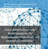 Batteriepatente, HV-Batteriesystem-Robustheit und innovative Elektrolyte