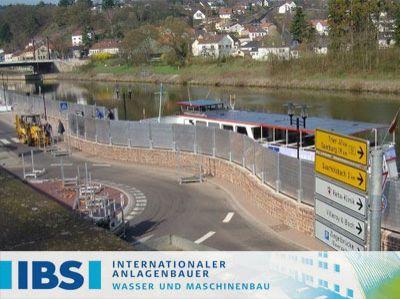 IBS - Ihr Partner für Hochwasserschutz Systeme