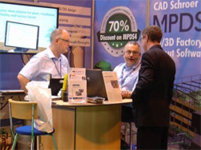CAD Schroer präsentiert MPDS4 Anlagenbau-Software