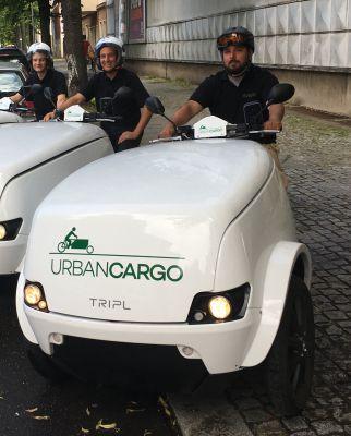 aeato`s E Cargo Scooter Team in Berlin