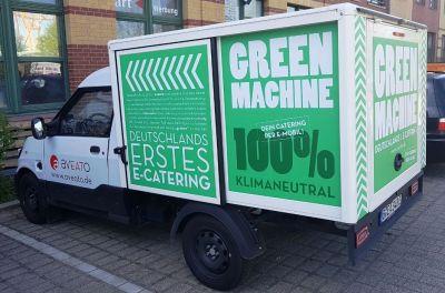 The GreenMachine, aveato Catering per E-Mobil